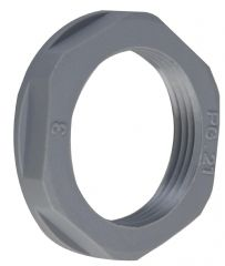 CONCORDIA TECHNOLOGIES APLNPG48GRY  Locknut Pg48 Grey 5/Pack